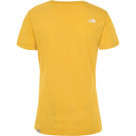 The North Face Simple Dome T-shirt Dames, golden spice